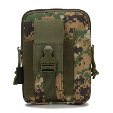 Universal Tactical Military Molle Holster Army Camo Case Bag Wallet Purse Waist Belt Pouch Cover Wrist Bag Phone Pouch