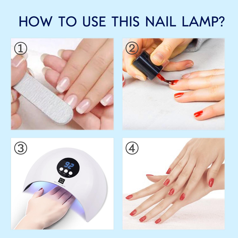 Lampe UV pour vernis gel à ongles pas cher | oko oko