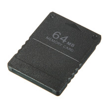 Black Wholesale Price 64MB 64M Memory Card Game Save Saver Data Stick Module For Sony For Playstation 2 For PS2 Game Accessory