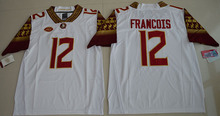 Men's Florida State Seminoles Jameis Winston Dalvin Cook Deion Sanders Deondre Francois jersey(China)