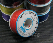 Colorful 305 meters advanced airline ok line cable jumper wire wrapping wire free sahipping high quality 30awg ok line q9