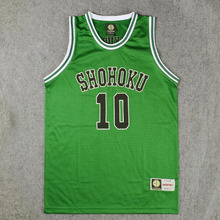 SLAM DUNK Cosplay Costume Shohoku 1-15 Sakuragi Hanamichi Basketball Jersey Tops Shirt Sport Wear School Basketball Team Uniform