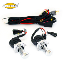 Auto Care H4 Xenon HID Bulbs Headlights Car Lamp H4-3 55W Color Temperature 4300K/5000K 6000K/8000K 10000K/12000K Low high beam