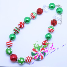Hot Sell Free Shipping Kids Jewelry DIY Chunky Baby Bubblegum Beaded Handmade Necklaces Design For Amazon Ebay CDNL-410462