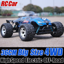 1/12 Electric RC Cars 4WD Shaft Drive Trucks High Speed Radio Control, Rc Big Truck, 3 Colors, RC Off Road Car(China)
