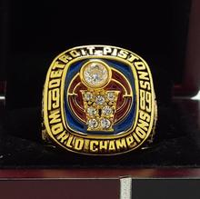 1989 DETROIT PISTON National Basketball Championship Ring 7-15 Size Copper Engraved Inside(China)