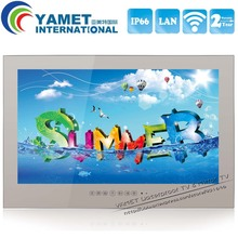 Brand New 27 inch Yamet IP66 Bathroom Smart TV Android Mirror Television WIFI Full-HD 1080P HDMI