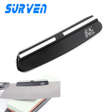SURVEN Knife Sharpener Holder Knives Angle Guide For Whetstone Sharpening Stone Grinder Kitchen Knives Accessories(China)
