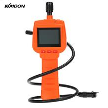 "KKmoon Waterproof Endoscope Inspection Camera 3MP With 2.4"" Screen DVR Video Recorder 9mm Diameter 1 Meters Tube Borescope Zoom"