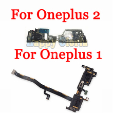 100% Original Microphone Mic + Vibrator Vibrating Motor Module Light Board Flex Cable Replacement Parts For Oneplus One Two 1 2