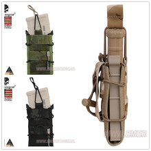 Multicam Black EMERSON Single Unit Magazine Pouch military army Utility MOLLE Vertical Accessories EM6345 MCAD MCTP
