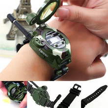 Electronic Toys Walkie Talkies wrist Watch 2 Pcs Children kids Intercom Set Outdoor Play Gift