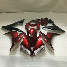 Motorcycle Fairing kit for YAMAHA YZFR1 04 05 06 YZF R1 2004 2005 2006 YZF1000 Hot red matte black Fairings set+7gifts YN88