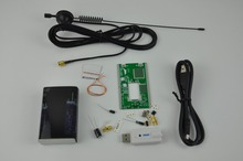 DIY KITS RTL-SDR 100KHz to1.7GHz Full Band UV HF RTL-SDR USB Tuner Receiver DIY KITS + U/V antenna Top Quality