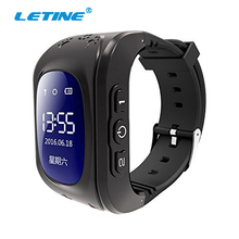 Letine Q50 Smartwatch Kids Children's Cell Phone Smart Watch Hour Touch Clock with GPS SIM and Android Phones Function Q90 Q750(China)
