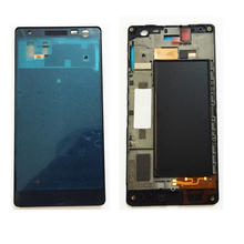 High Quality LCD Holder Screen Front Frame For Nokia Lumia 730 735 Front Housing Case Replacement Parts