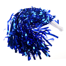 New Sale Party Costume Sports Cheerleader Party Favors Flower Ball Pom Poms Hot New Blue/Gold/Red/Silver/Rose red/Green