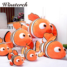 Finding Nemo Plush Toys Nemo And Dory Fish Stuffed Animal Soft Plush Toy Doll Baby Gift Toy Stuffing Fashion doll Animation WW73