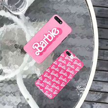 Hepu for Barbie girl pink iPhone7 phone shell Apple iphone X 6s soft silicone case iphone 6plus drop female personality