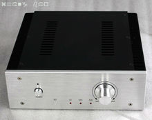 WA17 all amplifier case black wire drawing diy tube amplifier chassis aluminum amplifier enclosure