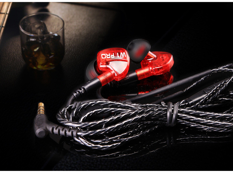Original FONGE W1 Pro Stereo HiFi Headphones with Microphone Sport Sweatproof Headset MP3 Music Earphone for Smartphone