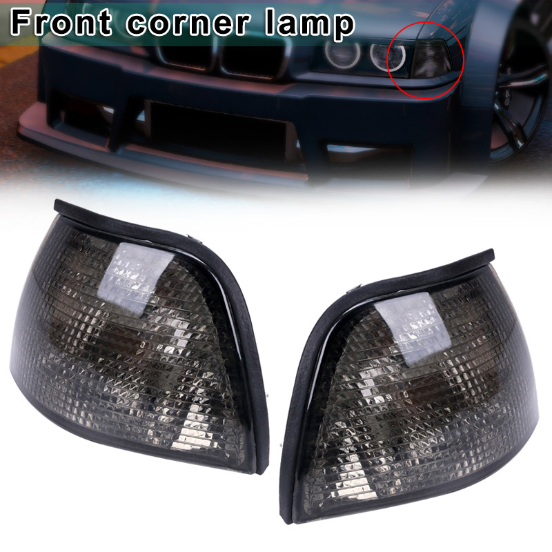 BMW 3 SERIES E36 SALOON COUPE CONVERTIBLE CRYSTAL CLEAR SIDE REPEATERS INDICATOR