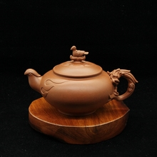 ZGJGZ Chinese Great Master Handmade Works Tea Tasting Set Yixing Zisha Teapot for Adults Theepot Tea Ceremony Gifts