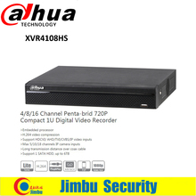 Buy DAHUA XVR4108HS 8 Channel 720P 1U Digital Video Recorder Support HDCVI/ AHD/TVI/CVBS/IP video inputs Support 1 SATA HDD for $120.00 in AliExpress store