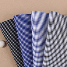 Multicolor plaid shirt fabrics Professional cultivate morality man yarn-dyed shirt fabric Kam cotton stretch fabric