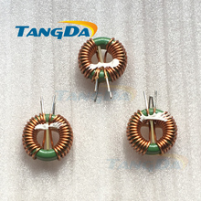 Tangda 10A 22*14*8 2MH 1.0 mm toroidal inductor force inductor winding inductance magnetic Inductor Coil A.