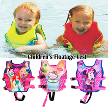 2-10Years Baby Children Swimming Float Vest Trainer Inflatable Swimwear Kids Swim Aid Vest Girls Swimsuit Jacket Pool Piscine(China)