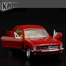 Free shipping 1:36 FORD mustang 1964 saloon car Alloy model toys Leap to jump Children like the gift