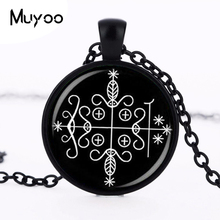 fashion papa legba voodoo pendant ritual altar pendant occult medallion pendant NECKLACE jewelry HZ1(China)