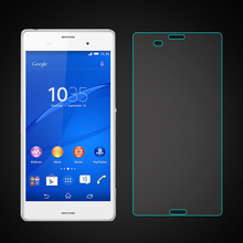 Etmakit  New Ultra Thin 2.5D 9H Screen Protector Tempered Glass For Sony Z1 L39H Xperia Z2 Z3 Z3 Com