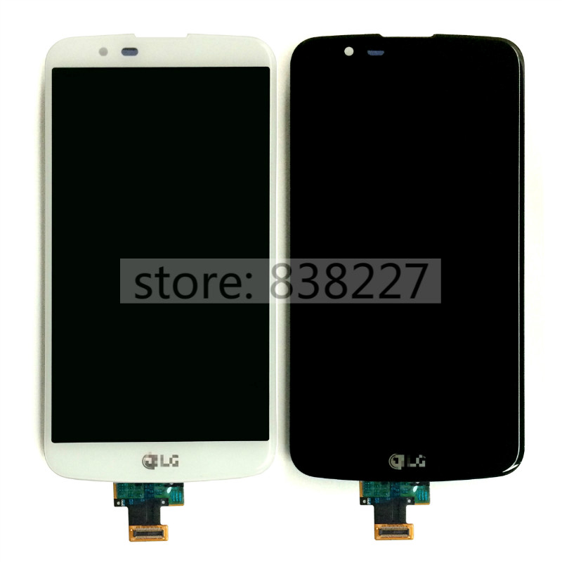 For LG K10 TV version K10TV K430tv LCD Touch Display Screen Digitizer Glass original Assembly Black white and golden in stock<br><br>Aliexpress