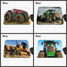 Mairuige Tractor Custom Print Design, Anti-slide Rectangular Rubber Notebook Computer Game Mouse Mat Can Be Used as a Gift(China)