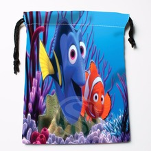TF&5 New Finding Nemo Underwater World &1 Custom Printed receive bag Bag Compression Type drawstring bags size 18X22cm &81#5