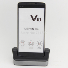 BL-45B1F V10 Battery Charger For LG V10 H968 H961 BAK-110 F600 Black Desktop Dual Data Sync Dock Cradle H901 H900