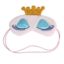 Cute Eyes Cover Crown Style Travel Sleeping Blindfold Shade Eye Mask  X706