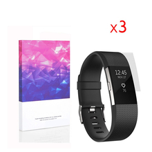 High Definition Ultra Clear Screen Protector For Fitbit Charge 2 (3 packs)