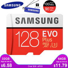 самсунг карта памяти флешка Memory Card Micro SD 64gb Class 10 Microsd 32 gb 128gb SDHC/SDXC TF tarjeta carte sd 64G U3 U1 evo plus for cellphone(China)