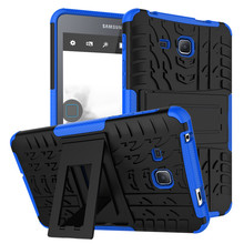 For Samsung Galaxy Tab A (2016)7.0 T280 T285 Tablet Case Heavy Duty Defender Rugged TPU+PC Hybrid Armor Shockproof Kistand Cover(China)