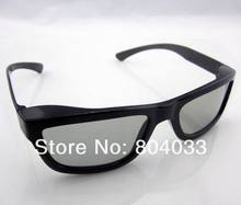 5pcs 2015 New Fashion Passive Polarized 3D Glasses for Sony for LG for Samsung Dimensional Anaglyph Movie DVD TV LCD Video Game