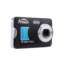 "AMKOV CD-FE 2.7"" TFT LCD Screen 18.0MP  8X Digital Zoom DC Digital Camera Professional Anti-shake Video Camcorder"