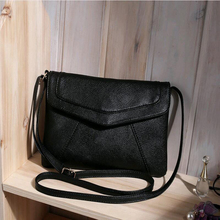 Casual Vintage Women Crossbody Messenger Bags Lidies Party Purse Women Bag Classic Handbag Clutches Purse Solid Shoulder Bag
