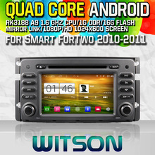 WITSON S160 CAR DVD for Smart ForTwo 2010-2011 GPS NAVIGATION Quad Core Android 4.4 capacitive Screen+16G Flash+PIP+DVR/WIFI/3G(China)