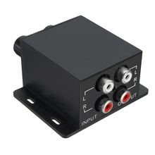 Mayitr Car Universal Amplifier Bass Controller RCA Gain Level Control Amplifers Volume Adjustment Equalizer 150Hz-40Hz
