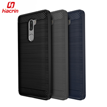 "hacrin Xiaomi Mi 5S Plus Case Carbon Style Protective Back Cover TPU Silicon Case For Xiaomi Mi5S Plus 5.7"" Mobile Phone(China)"