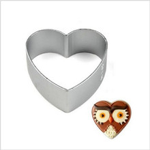 Christmas Kitchen Loving Heart Shaped Aluminium Tools Alloy Pastry Biscuit Cookie Cutter Baking Mould Free Shipping