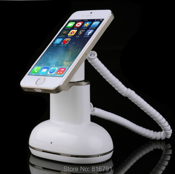 Retail Loss Prevention Cell Phone Charger Holder Display Anti-theft Alarm with Charging and remote control<br><br>Aliexpress